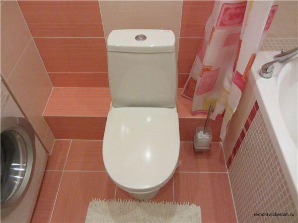 Установка туалета  видео